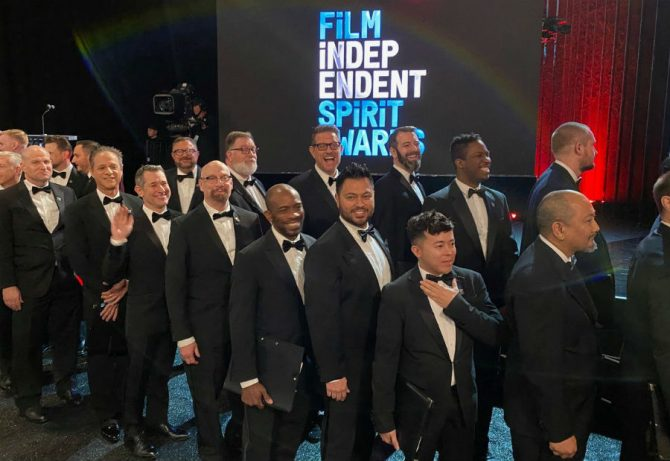 The Gay Men's Chorus of Los Angeles at the Spirit Awards