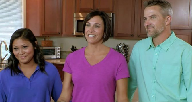 Geli, Lori and Brian on House Hunters