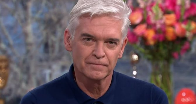 Phillip Schofield discussed being gay on British show This Morning