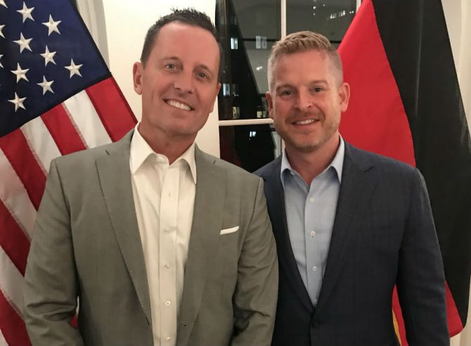Grenell and longterm partner Matt Lashley