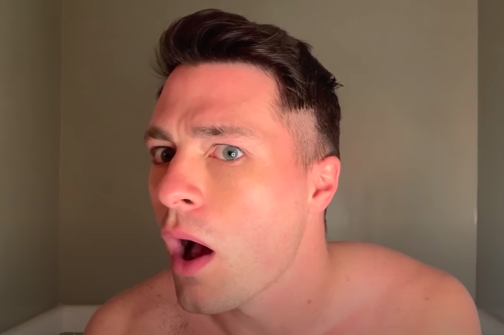 Colton Haynes Just Gave Himself A Diy Haircut On Youtube And The Results Are Um Interesting Queerty