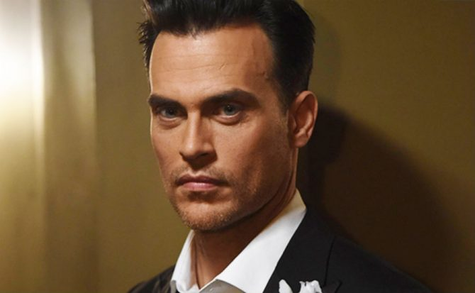 Cheyenne Jackson talks about his hair transplant procedures