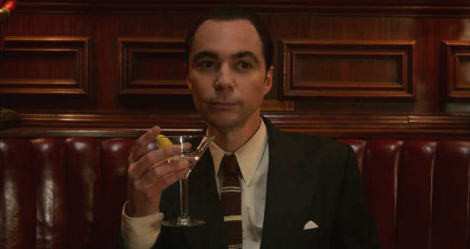 Jim Parsons as agent Henry Willson in Netlfix show, Hollywood