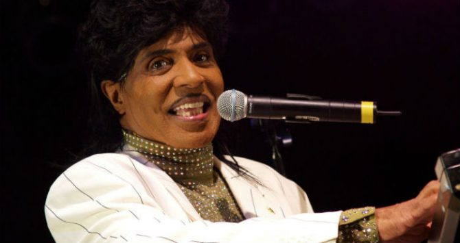 Little Richard performing in 2007