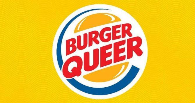 Burger King's Burger Queer logo