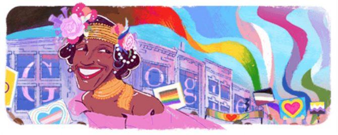 The Marsha P. Johnson Google Doodle