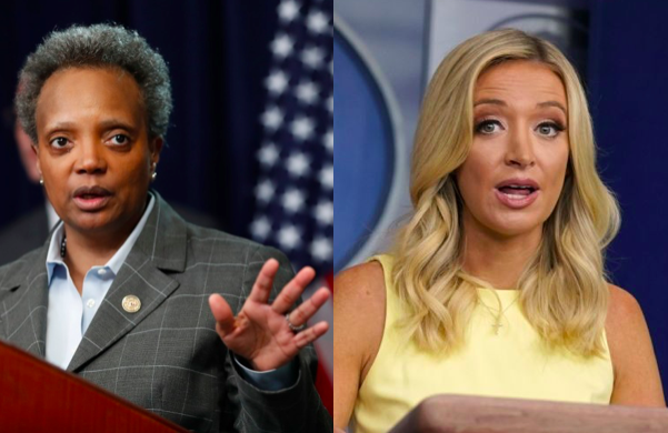 Lori Lightfoot Is All Of Us When She Tells Kayleigh Mcenany Hey Karen Watch Your Mouth Queerty