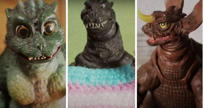 The Godzilla short from Cressa Maeve Beer