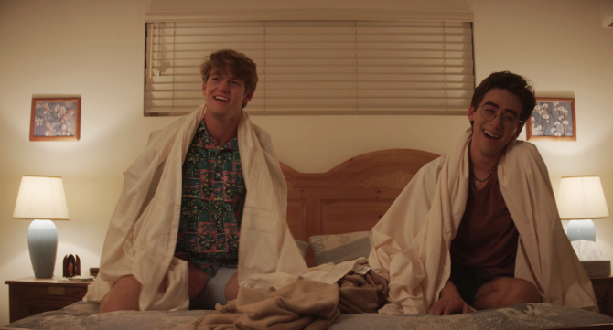 WATCH: Two high school theater students wrestle with sexual tension in  'Dramarama' / Queerty