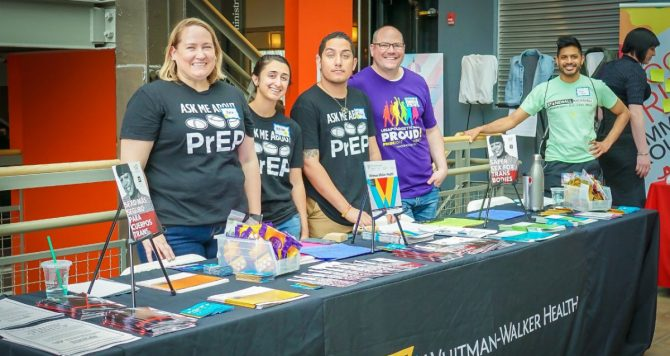PrEP outreach from Washington DC's Whitman-Walker Center