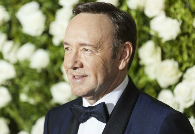 Kevin Spacey attends the Tony Awards in New York City, 2017