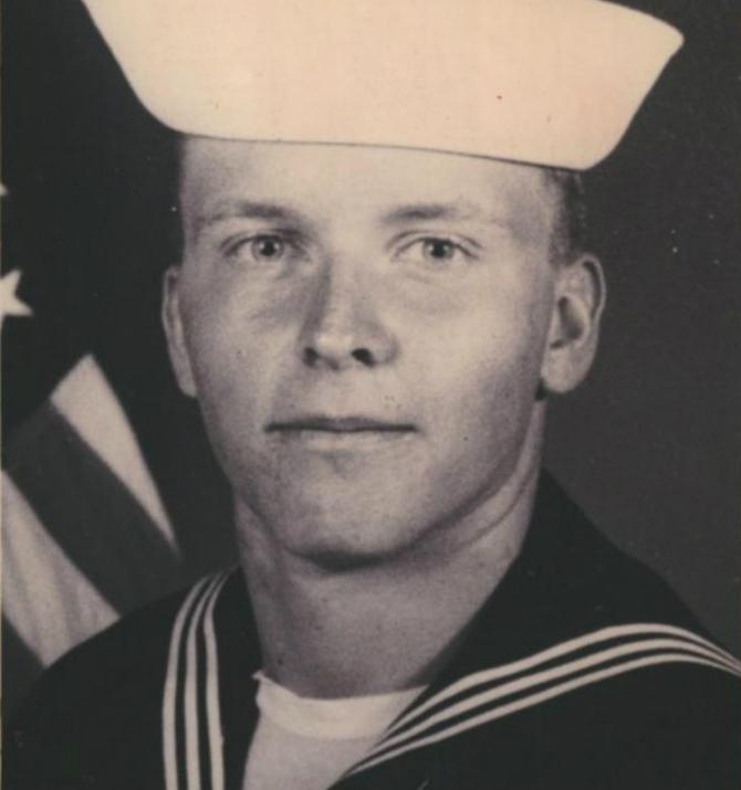 Navy Radioman Seaman Allen R. Schindler
