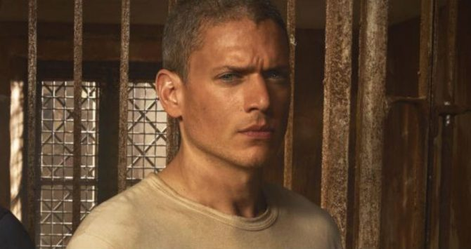 Wentworth Miller in Prison Break