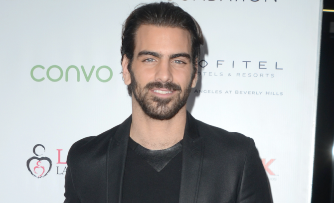 Nyle DiMarco kicks off 2021 with steamy photo shoot