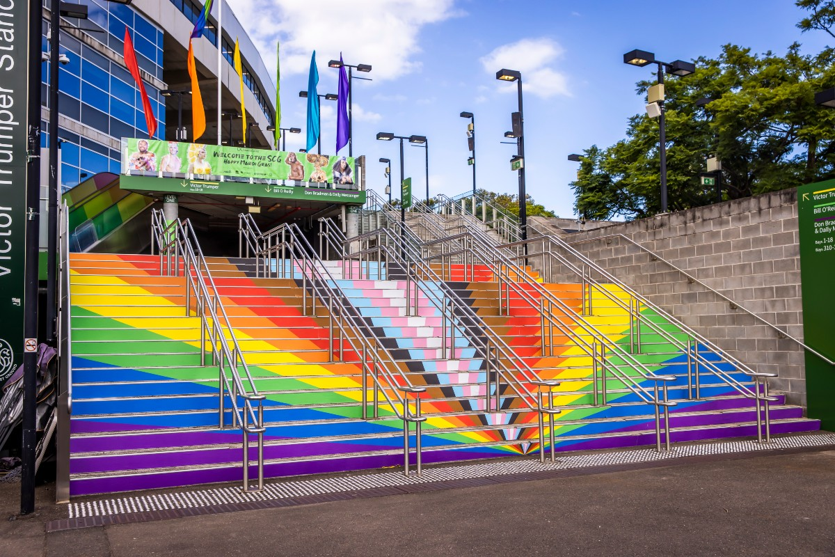 Sydney Cricket Ground welcomed Mardi Gras ticket holders
