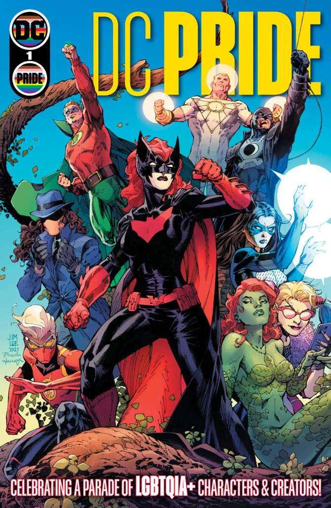 DC Pride anthology cover