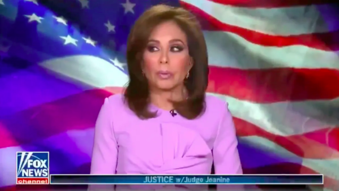 Everyone thinks Jeanine Pirro was drunk on the air again