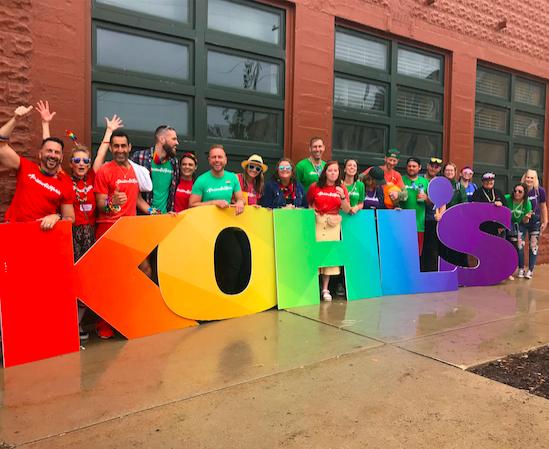 Kohl's Milwaukee Pride Parade in 2019