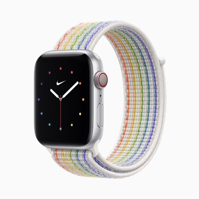 Apple's Nike Sport Loop Pride 2021 band