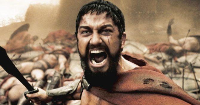 Gerard Butler played King Leonidas in the original 300