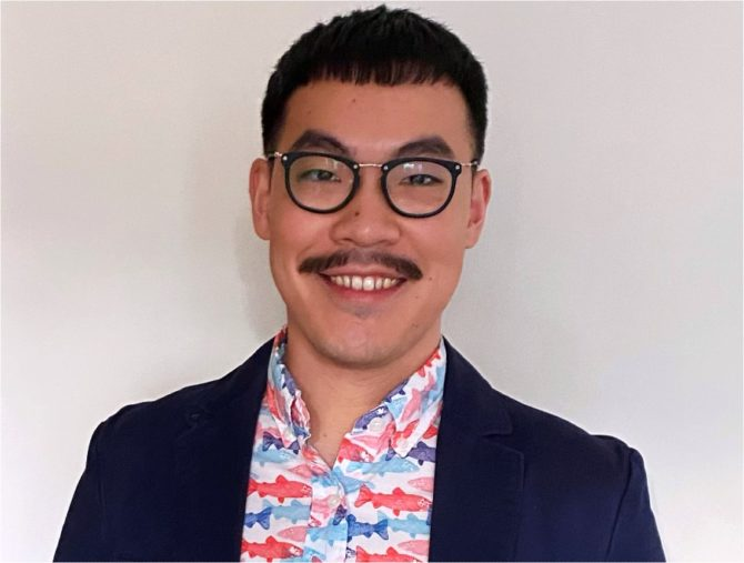Tim Wang, Director of Advocacy and Policy at Chicago's Howard Brown Health