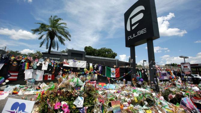 The Pulse Memorial in Orlado, Florida