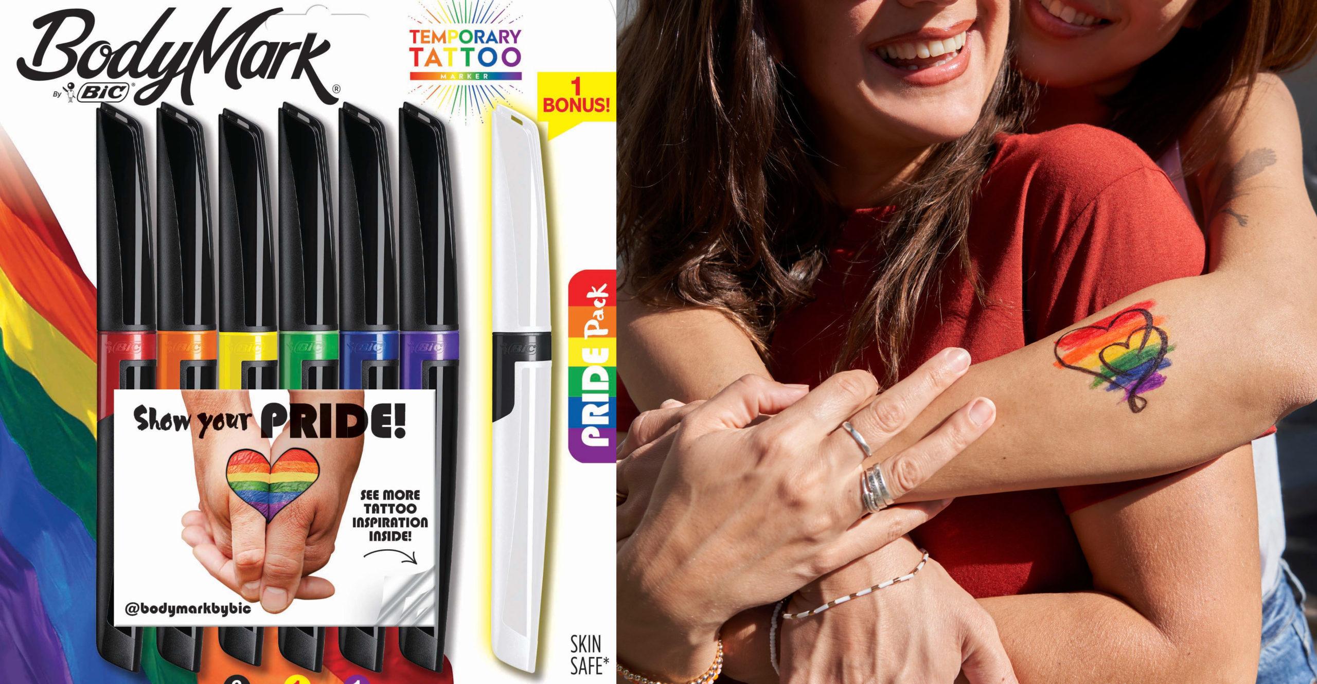 BodyMark by BIC Temporary Tattoo Markers
