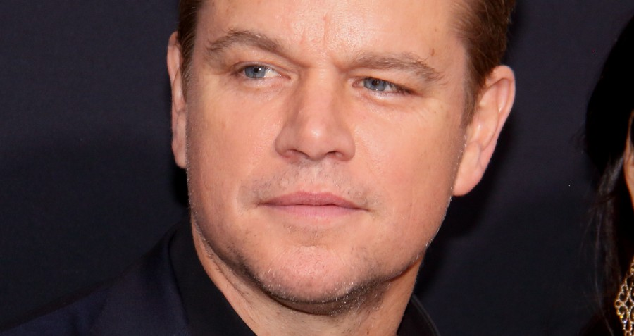 Matt Damon in 2019