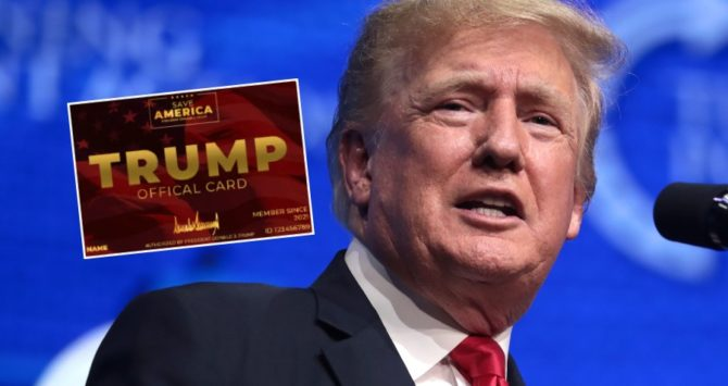 The new Donald Trump card