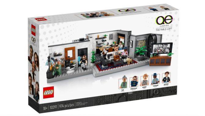Lego Queer Eye Loft set