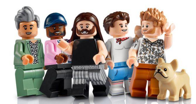 LEGO's Queer Eye figurines