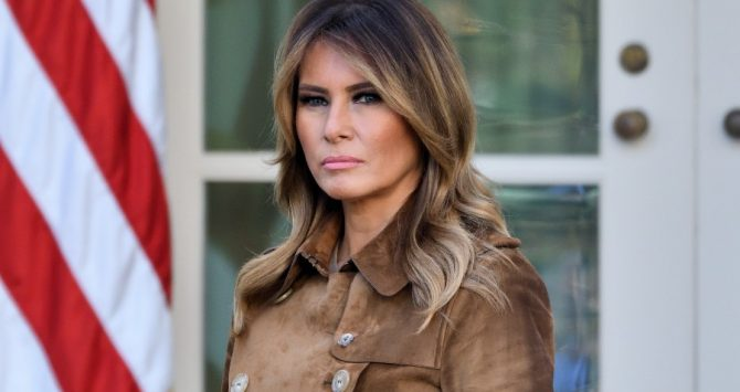 Melania Trump at the White House in 2019