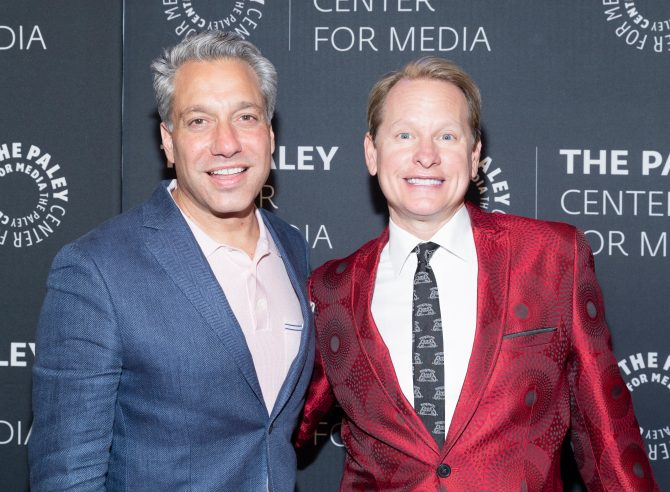 Thom Filicia and Carson Cressley attend The Paley Honors: A Gala Tribute To LGBTQ at The Ziegfeld Ballroom in 2019