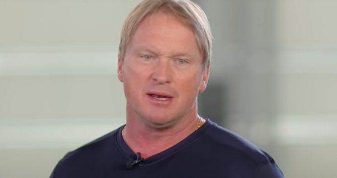 Jon Gruden resigns as head coach of the Las Vegas Raiders