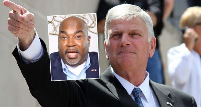North Carolina's Mark Robinson and Franklin Graham